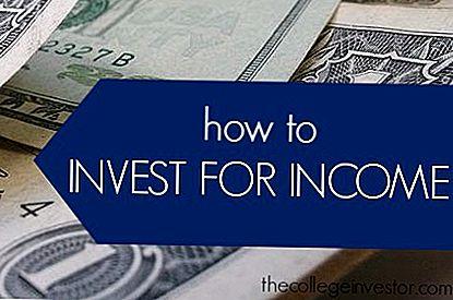 Tip Pelaburan # 335: Cara Melabur Pendapatan