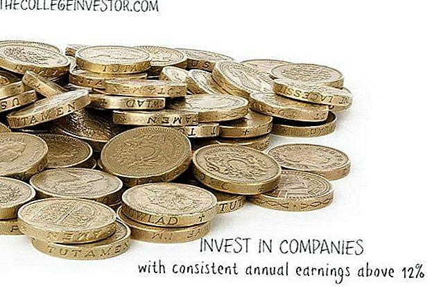 Ulaganje Savjet # 336: Investirajte u tvrtke s dosljednom godišnjom zaradom iznad 12%