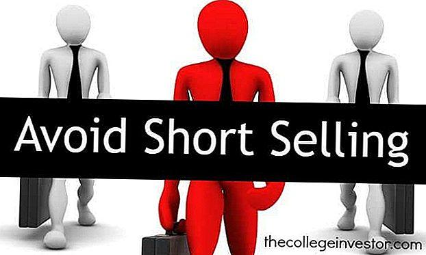 Astuce d'investissement # 341: éviter la vente à découvert