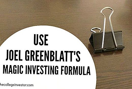 Investerings Tip # 347: Brug Joel Greenblatts Magic Formel