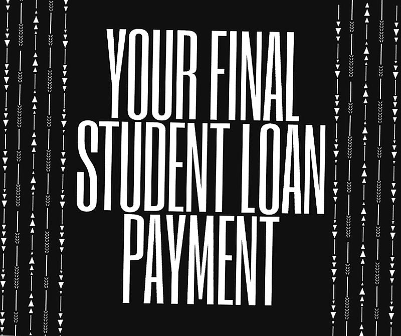 Processen til at gøre din endelige studielånsbetaling