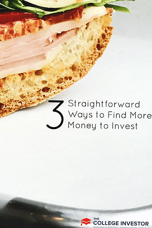 3 Rettferdige måter å finne flere penger å investere