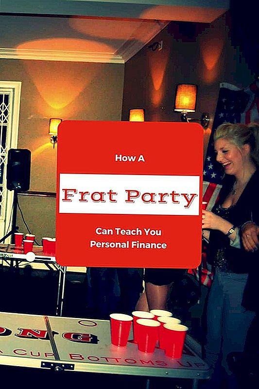 Kaip Frat partija gali išmokyti jus asmeninius finansus