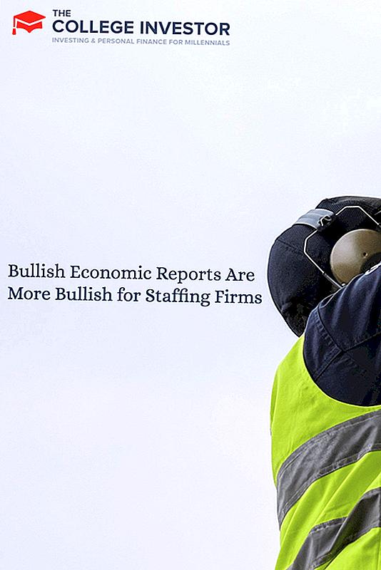 強気な経済報告は人材派遣会社にとってより強気である