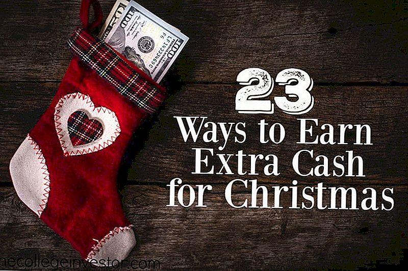 23 måter å tjene ekstra penger til jul