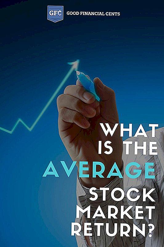 Hva er gjennomsnittlig aksjemarkedet tilbake?