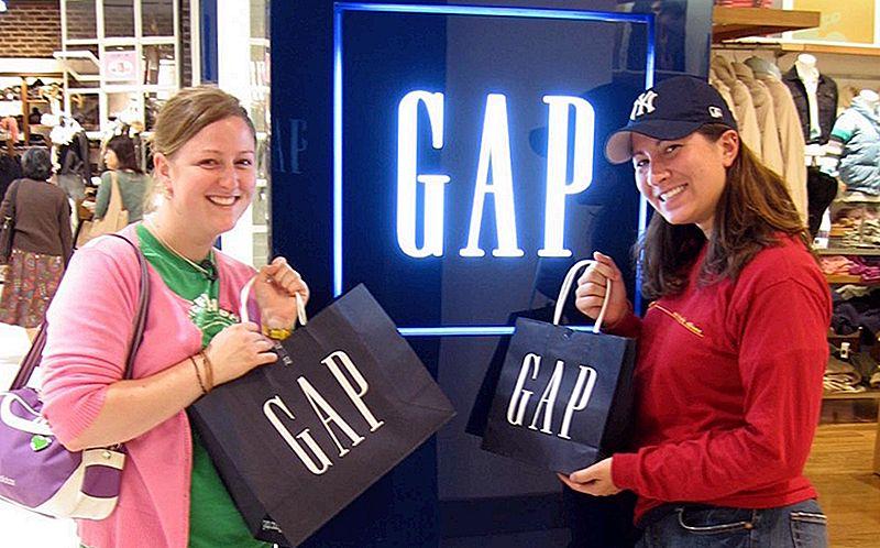 6 простих способів заощаджувати гроші на розрив та Gap.com